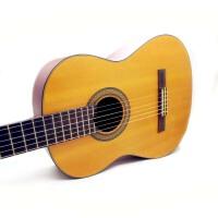 外贸出口产品 Emotion 古典吉他 单板吉他 限量版  古典吉他 尼龙弦 原木色 性价比的高峰 初学 入门 吉他 古典 38寸 (送背包一个 琴弦一套+《即兴之路》教程+CD)