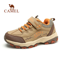 camel骆驼户外登山徒步鞋青少童鞋 新款减震炫酷户外鞋