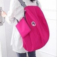 韩国户外旅行防水多功能可折叠收纳包背包 大容量双肩包