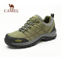 camel骆驼户外登山鞋 秋冬新款徒步越野鞋 低帮登山鞋 男鞋