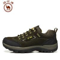 骆驼牌男鞋 户外登山鞋休闲鞋运动鞋 系带鞋低帮鞋
