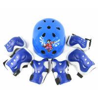 儿童轮滑护具套装儿童护具滑板旱冰溜冰鞋 护具轮滑头盔7件套装
