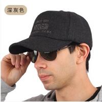 男士棒球帽男护耳 男士帽子 男 韩版潮 冬天户外运动帽子