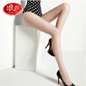6条 浪莎丝袜子 女士超薄包芯丝绢感觉不加裆丝袜子