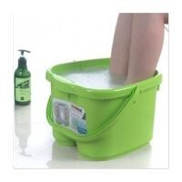 普润 脚底按摩功能 塑料足浴桶 洗脚盆 洗脚桶足浴盆