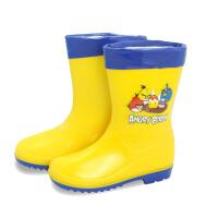 儿童鞋雨靴童鞋女童水鞋男童雨靴防滑可脱卸内胆保暖棉雨靴