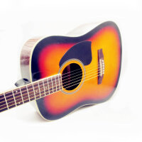 jackson 民谣吉他 初学(两色可选:木色 太阳色) 木吉他 吉他 41寸 经典D型 圆角吉他 入门 云衫木面板 沙比利背侧板 DG-15(送: 防雨背包 吉他拨片 一弦 背带 扳手 《即兴之路》初中级教程+CD)