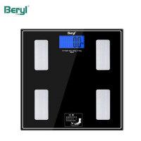 贝雅智能体重秤家用电子称健康秤精准体脂秤人体脂肪秤成人体重秤 智能脂肪秤 蓝牙连接 新品 特价