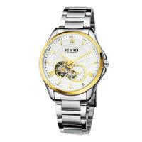 2017年新款 EYKI艾奇 全自动机械表 钢带手表 罗马刻度 男表 8628 白盘金针