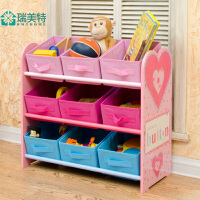 宜家超大儿童玩具收纳架幼儿园宝宝玩具架布抽储物架置物架整理架
