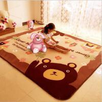 新款简约现代客厅卧室儿童地毯沙发茶几床边满铺大地垫爬行垫家用脚垫