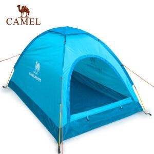 camel骆驼户外帐篷 防水牛津布 野外露营轻便结实 防雨双人三季用帐篷