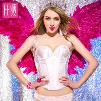 比瘦  新娘塑身衣上衣女收腹带托胸腰封罩杯婚纱塑形内衣收腹束身衣  BB188