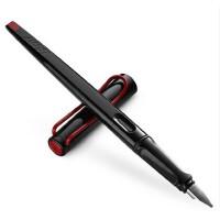 德国原装正品LAMY凌美钢笔 JOY 喜悦系列艺术钢笔黑杆红夹钢笔