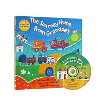 The Journey Home from Grandpa's(A Barefoot Singalong)到爷爷家(书+CD)ISBN9781846866586