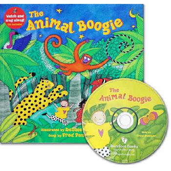 The Animal Boogie (A Barefoot Singalong)动物摇滚(书+CD)ISBN9781846866203
