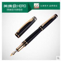 英雄钢笔美工笔弯头1021书法练字速写签名笔办公用商务铱金笔
