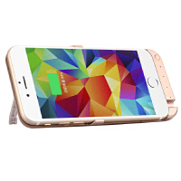 【包邮】iphone6s/6 背夹电池 5800毫安 iphone6splus/iphone6plus 背夹电池 8200毫安 充电宝 背夹电 支架 无线移动电源