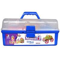 科博磁力棒 儿童早教益智 拼插建构 智力开发 磁性玩具888件