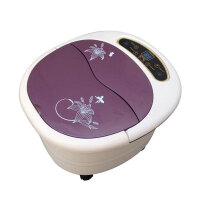 朗悦 足浴盆 LY-820 一键启动足浴器 洗脚器 加热 气波红外 调温 定时 提手设计 显示温度