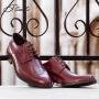 宾度男鞋新品商务正装鞋尖头婚鞋男宴会鞋子英伦男士皮鞋