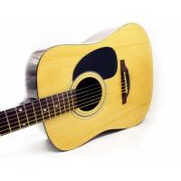 支持货到付款  Rockman 标准 41寸 民谣吉他 木吉他 吉他 入门级 初学 民谣吉他 初学吉他 经典 圆角 树脂包边 加拿大枫木面板--史上性价比强(送;吉他拨片  背带 一弦 扳手一个《即兴之路》初学中级教程...