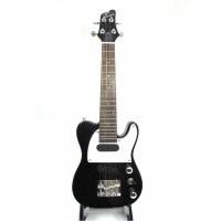 支持货到付款 ukulele 电尤克里里23寸 夏威夷成人小四弦电琴 电声小吉他 电乌克丽丽 FTLUK-3-BK