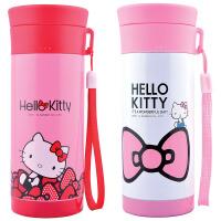 包邮 hello kitty 手拎女士办公水杯 300ML家居杯 保温杯  3661 白色