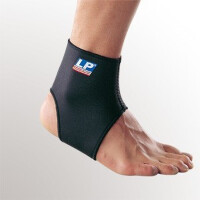 正品特价 美国LP护踝 LP704标准型踝部束套 篮球羽毛球运动护具