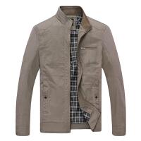 2016秋季新款男装中年男士外套 质感时尚百搭成熟男士夹克