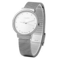 新款 聚利时 尊贵大方女士手表  魅力四射 情侣手表之女表 JA-426 高贵银色