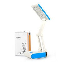 包邮久量LED688充电式护眼学习阅读台灯 折叠灯 写字灯创意时尚床头灯