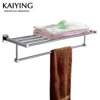 【工厂直营】凯鹰 优质铜镀浴室挂件 浴巾架 毛巾架7504