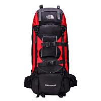 芭特莉【支持礼品卡支付】登山包专业支架70+10L登山旅游包男女通用旅行背包HW#253
