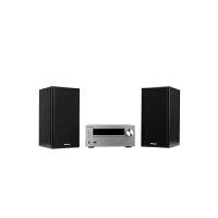 X-HM401V-S 先锋 CD/DVD迷你音响组合 30W+30W 支持苹果及USB