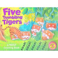 Five Tumbling Tigers 五只淘气的小老虎 (发音数数书) ISBN9781848951310