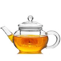 自由城 创意耐热玻璃壶 过滤普洱红茶迷你功夫茶具 茶壶 CF-125 HB-11