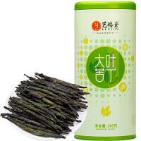 艺福堂茶叶 2014新茶 海南大叶苦丁茶160克/罐 滋味醇甘