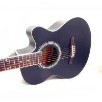 支持货到付款-Vorson(两色可选 :黑色  原木色 )低调华丽 入门 初学 木吉他 40寸 民谣吉他 适合弹唱 A型 吉他 云衫面板 初学吉他 (*品:拨片 一弦 背带 扳手 《即兴之路》初学中级教程+CD