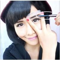 美妆日用货源修眉器 美妆工具化妆画眉毛一字眉卡套装