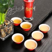 尚帝 功夫茶具套装 玻璃红茶茶具套装七件BH2014-119A
