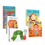 英文原版启蒙早教读物 I am a bunny我是一只兔子my dad my mum我爸爸我妈妈 Brown Bear