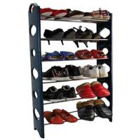 卡秀可调节六层组合鞋架  蓝色 黑色随机发货 WK998