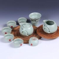 尚帝 专场开片汝窑10头 礼盒套装 茶具SD150630A