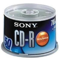 索尼 CD-R  刻录光盘 48x 50片装