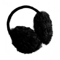 耀点100 黑色冬季保暖耳罩 耳套