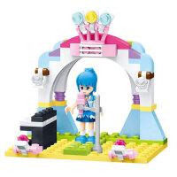 星钻积木 巴拉拉小魔仙女孩积木玩具益智塑料拼装礼物