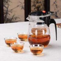 尚帝红茶飘逸杯赠4个品茗杯20160301-DYPG015