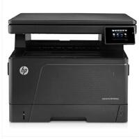 惠普(HP) LaserJet Pro M435nw 工作组级A3黑白数码复合机 M435NW无线打印一体机 (打印 复印 扫描)  惠普A3彩色扫描仪 惠普A3激光打印机 惠普A3幅面复印机 替代 惠普5200N