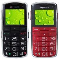 创维 L120老年手机 大字体大按键 收音机 侧键上锁 彩信